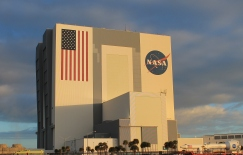 The Vehicle Assembly Building at NASA Kennedy